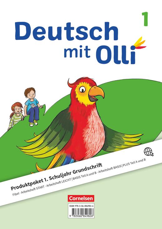 Deutsch mit Olli - Produktpaket Grundschrift - 1. Schuljahr