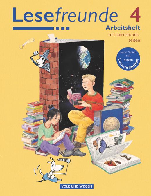 Lesefreunde - Arbeitsheft mit Lernstandsseiten - 4. Schuljahr