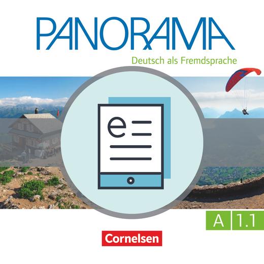 Panorama - Kursbuch als E-Book - A1: Teilband 1