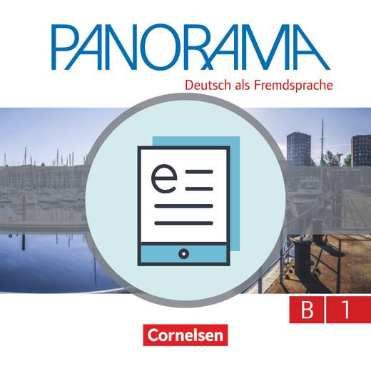 Panorama - Kursbuch als E-Book - B1: Gesamtband