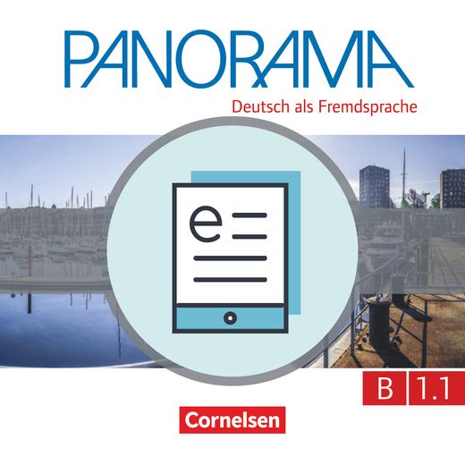 Panorama - Kursbuch als E-Book - B1: Teilband 1
