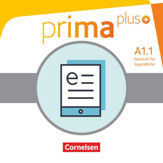 Prima plus - Schülerbuch als E-Book - A1: Band 1