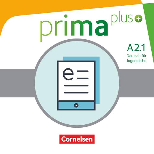 Prima plus - Schülerbuch als E-Book - A2: Band 1