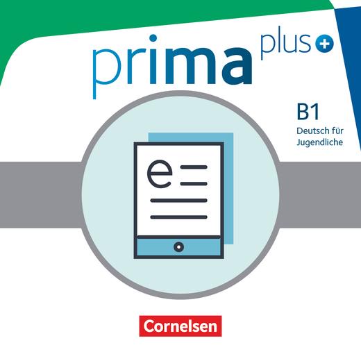 Prima plus - Schülerbuch als E-Book - B1: Gesamtband