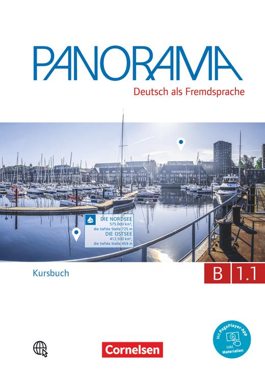 Panorama - Kursbuch - B1: Teilband 1