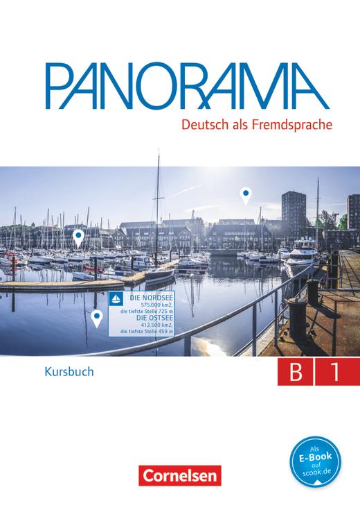 Panorama - Kursbuch - B1: Gesamtband