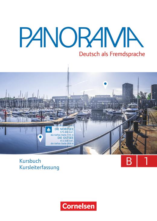 Panorama - Kursbuch - Kursleiterfassung - B1: Gesamtband