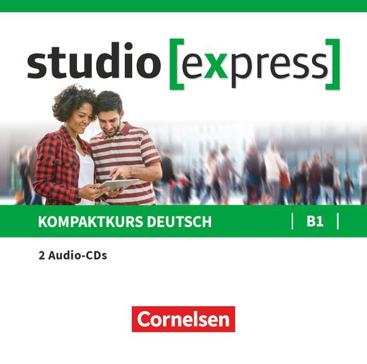 Studio [express] - Audio-CDs zu Kurs- und Übungsbuch - B1