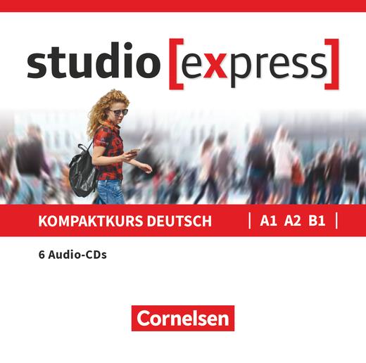 Studio [express] - Audio-CDs zu Kurs- und Übungsbuch - A1-B1