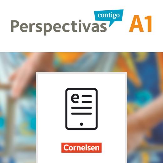 Perspectivas contigo - Kurs- und Übungsbuch und Vokabeltaschenbuch als E-Book - A1