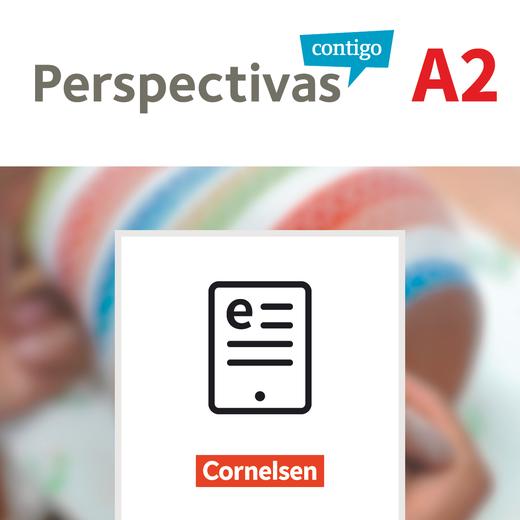 Perspectivas contigo - Kurs- und Übungsbuch und Vokabeltaschenbuch als E-Book - A2