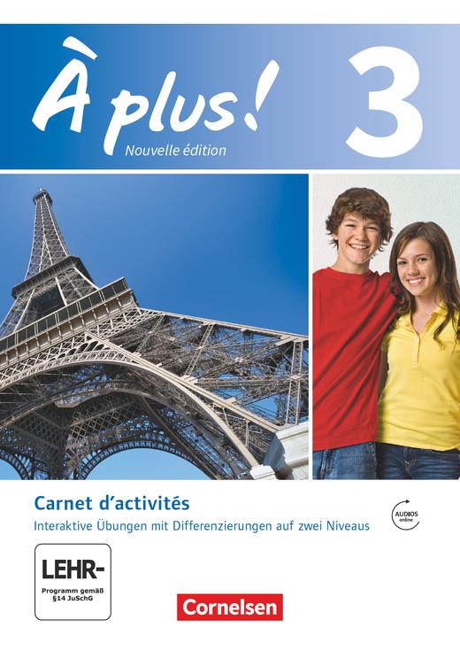À plus ! - Carnet d'activités mit interaktiven Übungen auf scook.de - Band 3