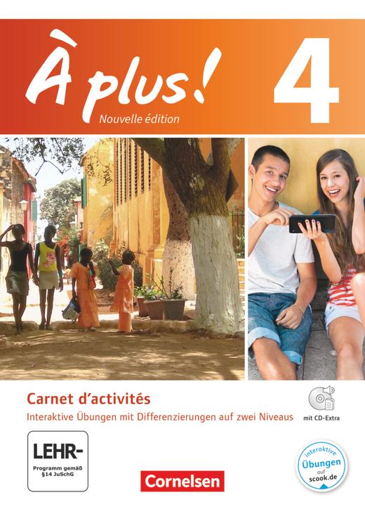 À plus ! - Carnet d'activités mit interaktiven Übungen auf scook.de - Band 4