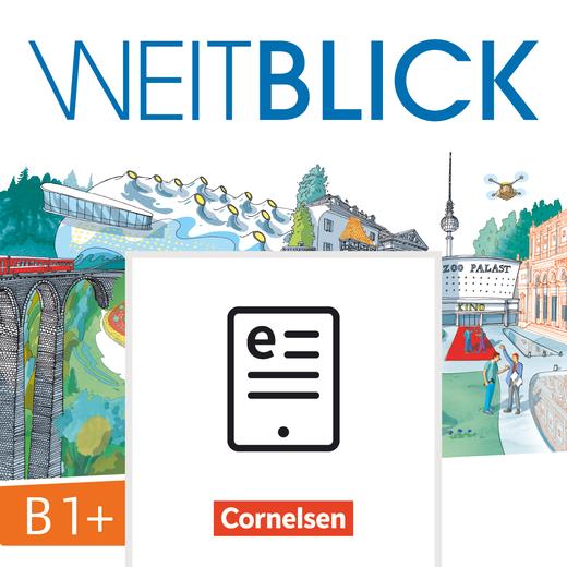 Weitblick - Kurs- und Übungsbuch als E-Book - B1+