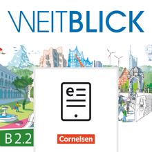 Weitblick - Kurs- und Übungsbuch als E-Book (auf scook) - B2: Band 2
