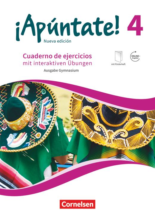 ¡Apúntate! - Gymnasium - Cuaderno de ejercicios mit interaktiven Übungen auf scook.de - Band 4