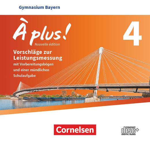 À plus ! - Vorschläge zur Leistungsmessung - CD-Extra - Band 4