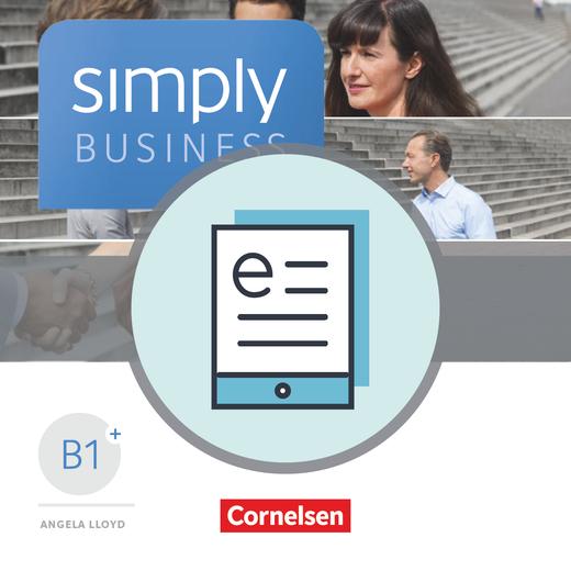 Simply Business - Coursebook als E-Book - B1+