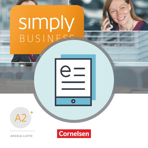 Simply Business - Coursebook als E-Book - A2+