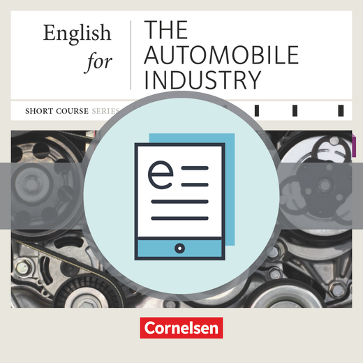 Short Course Series - English for the Automobile Industry - Kursbuch als E-Book - B1/B2