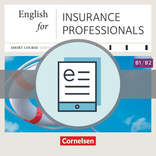 Short Course Series - English for Insurance Professionals - Kursbuch als E-Book - B1/B2