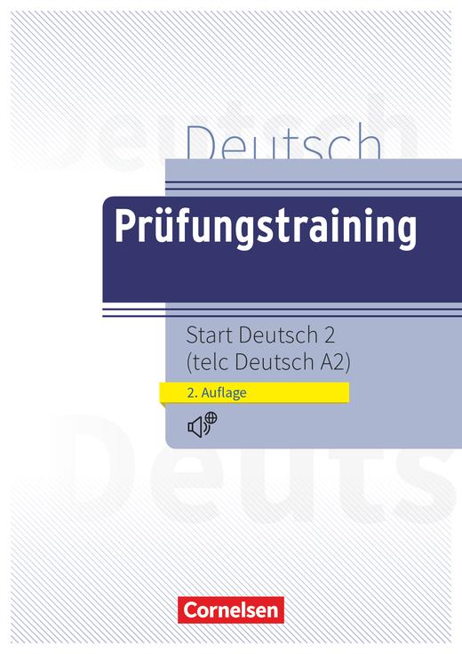 Prüfungstraining DaF - telc Deutsch A2 - Übungsbuch mit Audio- und Lösungs-Download - A2
