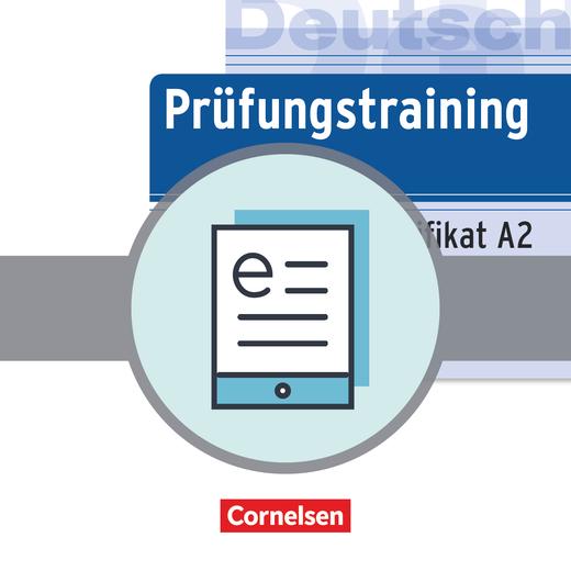 Prüfungstraining DaF - Goethe-Zertifikat A2 - Übungsbuch als E-Book - A2