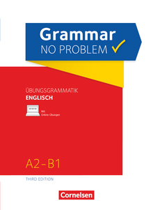 Grammar no problem - Übungsgrammatik Englischmit beiliegendem Lösungsschlüssel - A2/B1