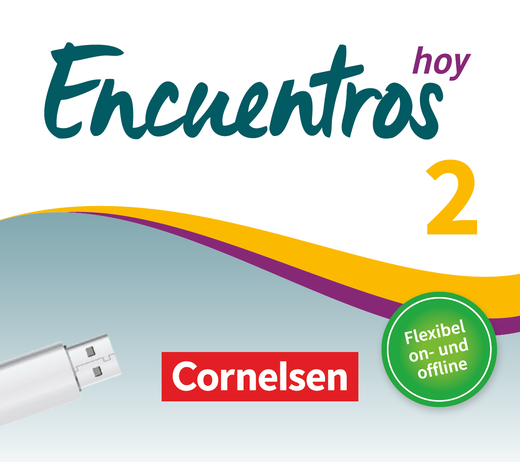 Encuentros - Unterrichtsmanager Plus auf USB-Stick - Band 2