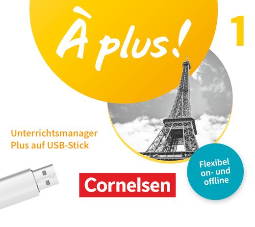 À plus ! Neubearbeitung - Unterrichtsmanager Plus auf USB-Stick - Band 1