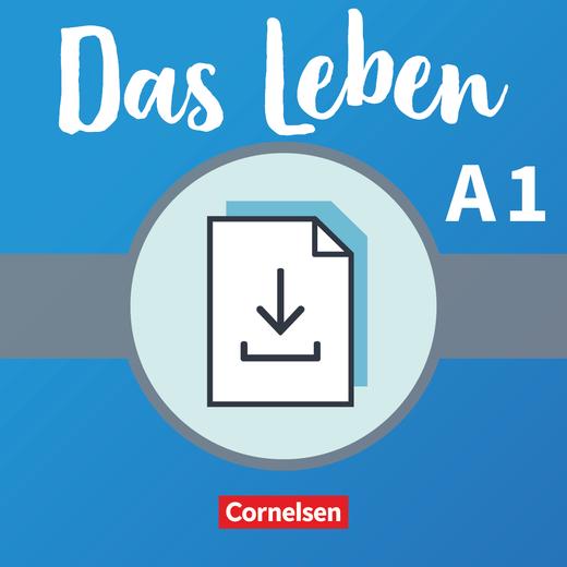 Das Leben - Glossar Deutsch-Englisch als Download - A1: Gesamtband