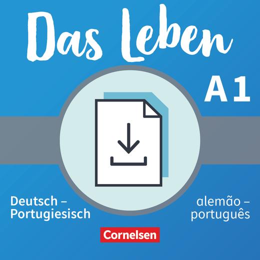 Das Leben - Glossar Deutsch-Portugiesisch als Download - A1: Gesamtband