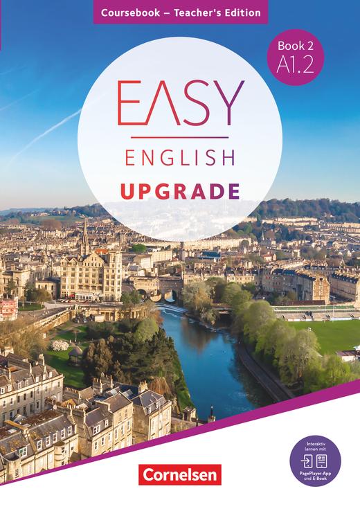Easy English Upgrade - Coursebook - Teacher's Edition - Book 2: A1.2