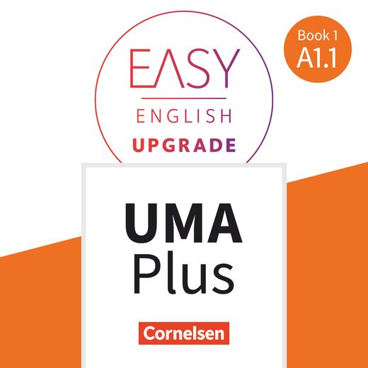 Easy English Upgrade - Unterrichtsmanager Plus - mit Download für Offline-Nutzung - Book 1: A1.1