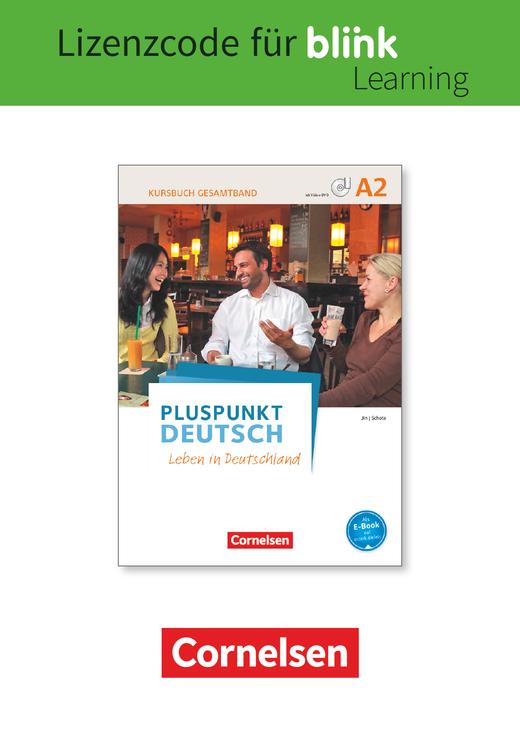 Pluspunkt Deutsch - Leben in Deutschland - Interaktives Arbeitsbuch und Kursbuch im Paket als E-Book mit Audios und Videos - A2: Gesamtband