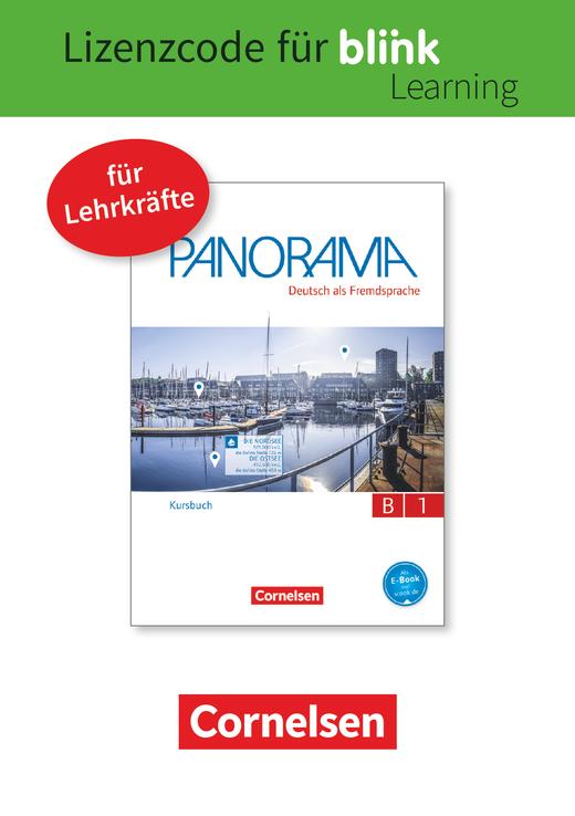 Panorama - Kursbuch als E-Book mit Audios und Videos - B1: Gesamtband