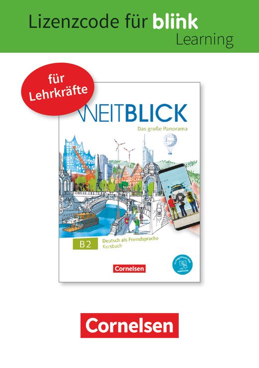 Weitblick - Kurs- und Übungsbuch als E-Book mit Audios, Videos und interaktivem Übungsteil - B2: Gesamtband