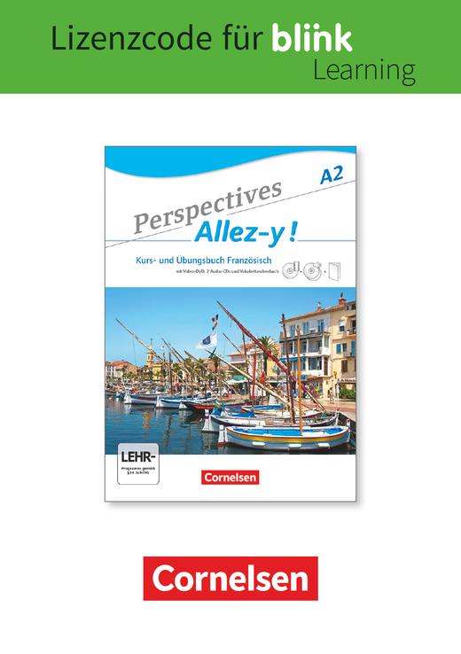 Perspectives - Allez-y ! - Kurs- und Übungsbuch als E-Book mit Audios und Videos - A2