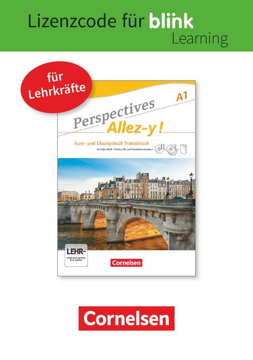 Perspectives - Allez-y ! - Kurs- und Übungsbuch als E-Book mit Audios und Videos - A1