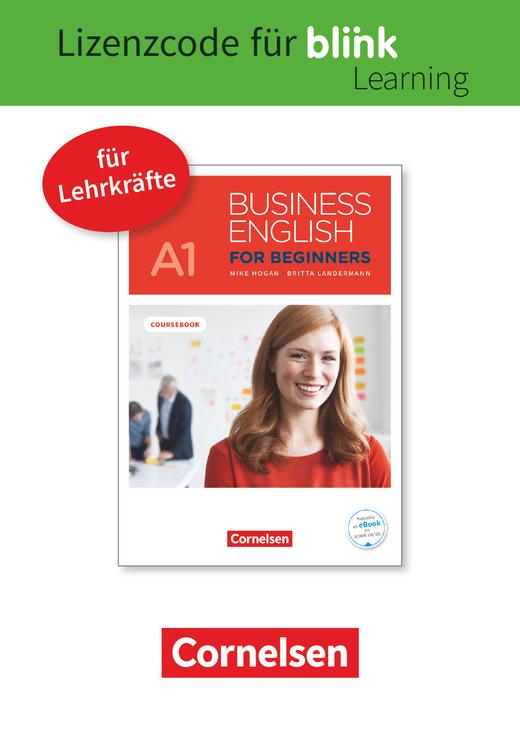 Business English for Beginners - Kursbuch als E-Book mit Audios und Videos - A1