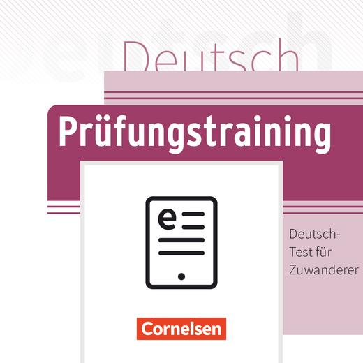 Prüfungstraining DaF - Deutsch-Test für Zuwanderer - Übungsbuch als E-Book - A2/B1