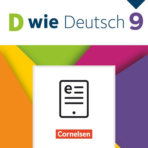 D wie Deutsch - Schülerbuch als E-Book - 9. Schuljahr