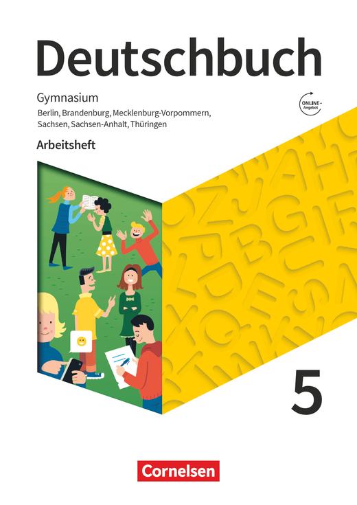 Deutschbuch Gymnasium - Arbeitsheft mit Lösungen - 5. Schuljahr