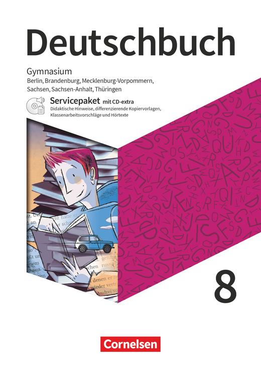 Deutschbuch Gymnasium - Servicepaket mit CD-Extra - 8. Schuljahr