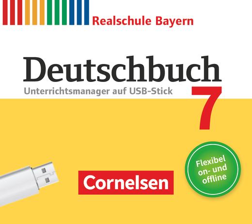 Deutschbuch - Unterrichtsmanager Plus auf USB-Stick - 7. Jahrgangsstufe
