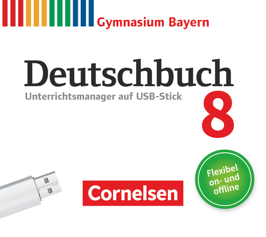 Deutschbuch Gymnasium - Unterrichtsmanager Plus auf USB-Stick - 8. Jahrgangsstufe