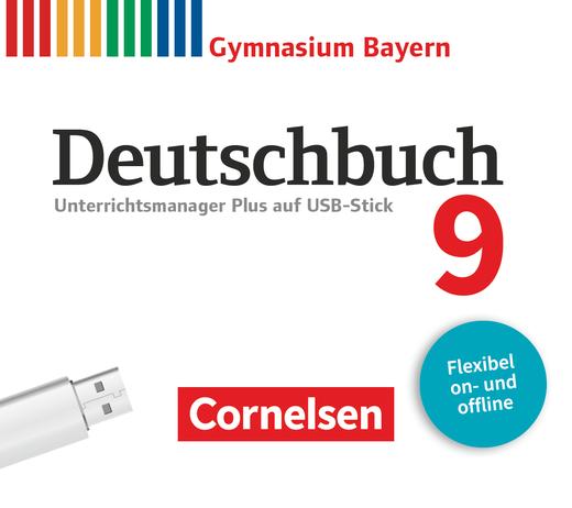 Deutschbuch Gymnasium - Unterrichtsmanager Plus auf USB-Stick - 9. Jahrgangsstufe
