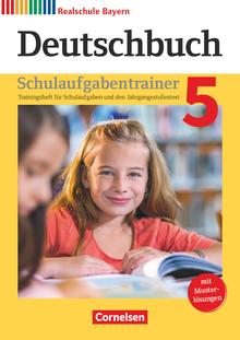 Deutschbuch - Schulaufgabentrainer mit Lösungen - 5. Jahrgangsstufe