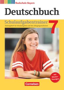 Deutschbuch - Schulaufgabentrainer mit Lösungen - 7. Jahrgangsstufe