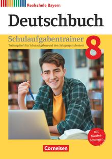 Deutschbuch - Schulaufgabentrainer mit Lösungen - 8. Jahrgangsstufe